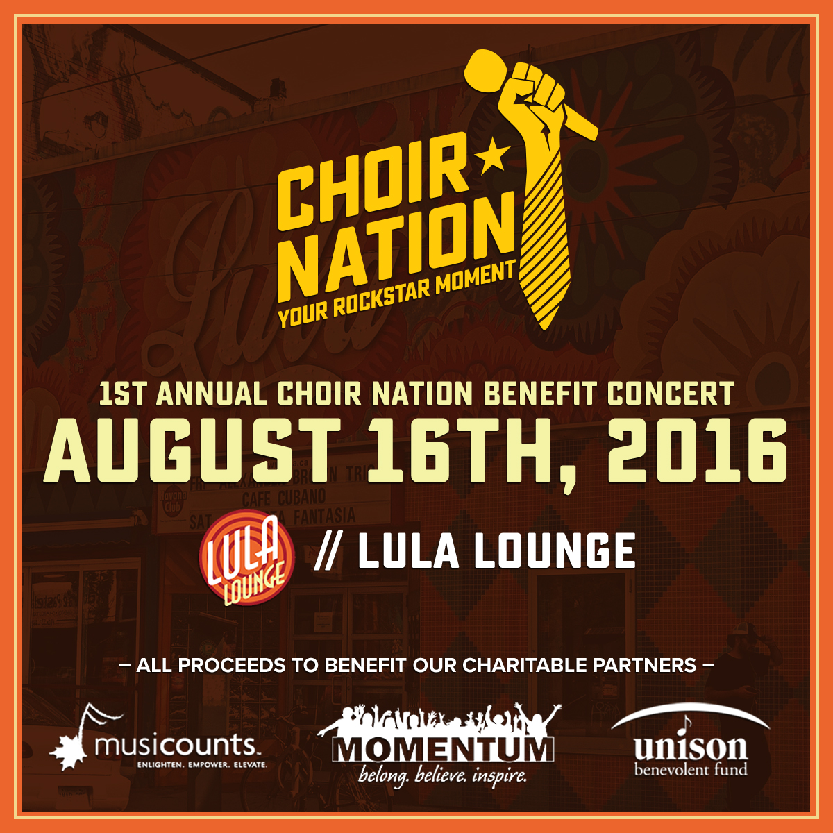 Inaugural Choir Nation Benefit Concert