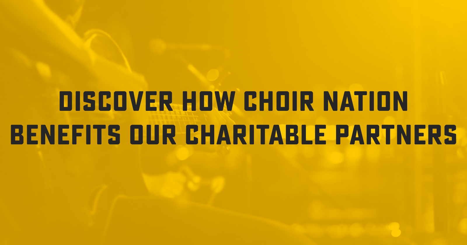 Choir Nation Engages Employees